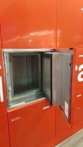 casier réfrigéré pour drive
